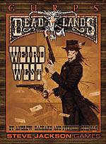 GURPS Deadlands: Varmints – Cover