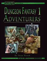 GURPS Dungeon Fantasy 2: Dungeons – Cover