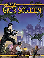 GURPS GM's Screen – Cover