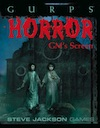 GURPS Horror GM's Screen