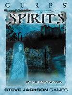 GURPS Spirits Cover