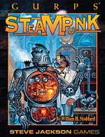GURPS Steampunk 1: Settings and Style – Cover