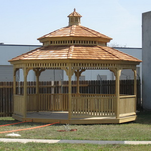 You must face the Gazebo alone.