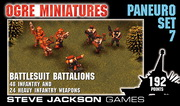 Paneuropean Set 7 – Battlesuit Battalions