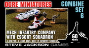 Combine Set 6 - Mechanized Infantry Company with  Escort Squadron